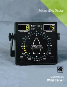 RM Young Marine Wind Tracker 06206 Model
