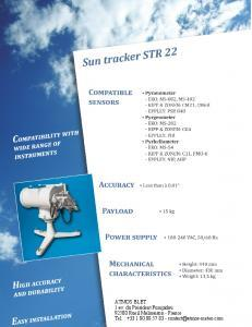 STR 22 Sun Tracker