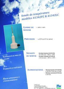 Sonde de température modèle 41342