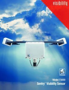 Capteur de visibilité ou visibilimètre SENTRY